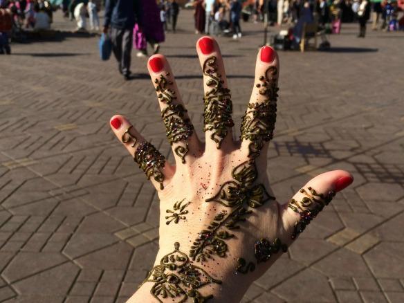 Marrakesch - Henna Tattoo 2