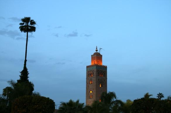 Marrakesch - Kutubiya Moschee