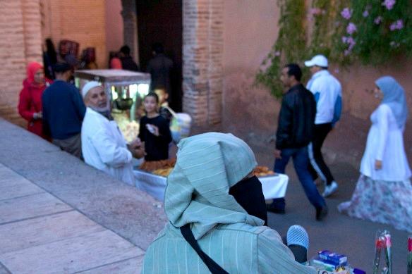 Marrakesch - Leute