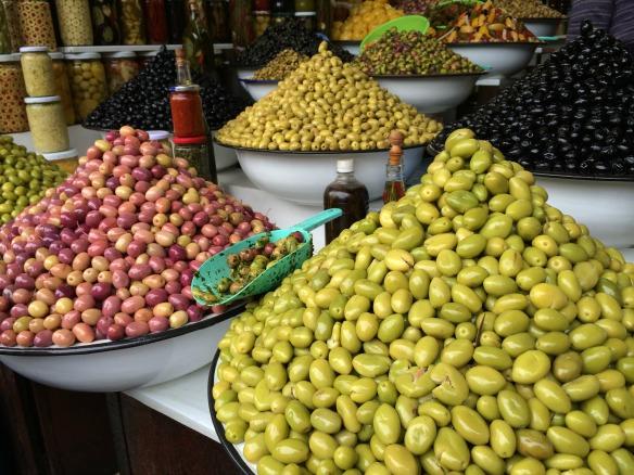 Marrakesch - Oliven