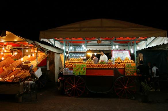 Marrakesch - Orangensaft
