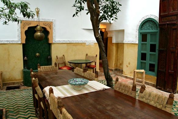Marrakesch in Marokko - Riad