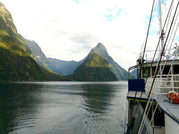 Neuseeland - Milford Sound - Bootstour