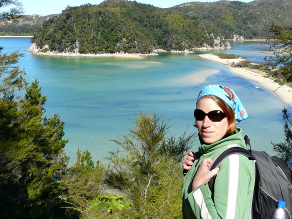 Neuseeland - Reiseblogger Anja Beckmann beim Wandern