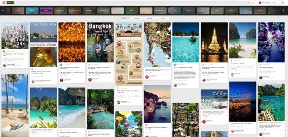 Pinterest - Suche