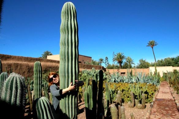 Reiseblogger Anja Beckmann in Marrakesch - Marokko