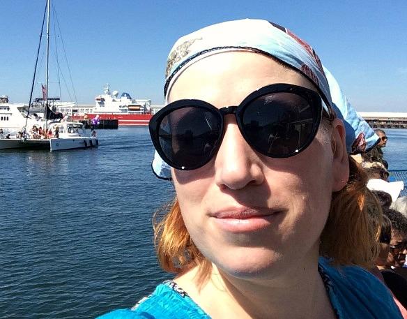Reiseblogger Anja Beckmann in Südafrika