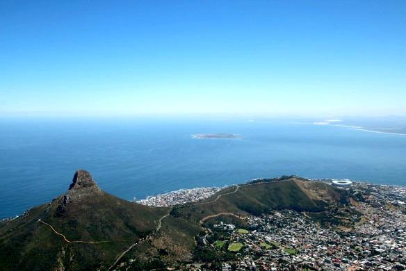 Südafrika - Kapstadt vom Tafelberg