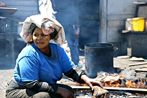 Südafrika - Township in Kapstadt