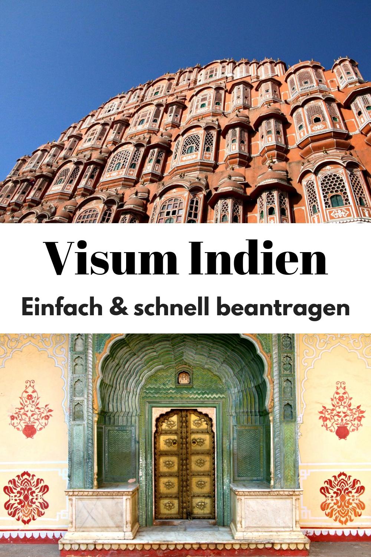 Visum Indien beantragen – so geht es einfach & schnell! Indien, Indien Visum, Indien Reisen, Reisen, Asien #Reiseziele #Reisetipps #Reiseblog #Indien #Asien #Visum