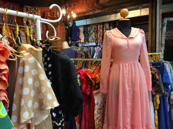 Bangkok Chatuchak Market - vintage clothes