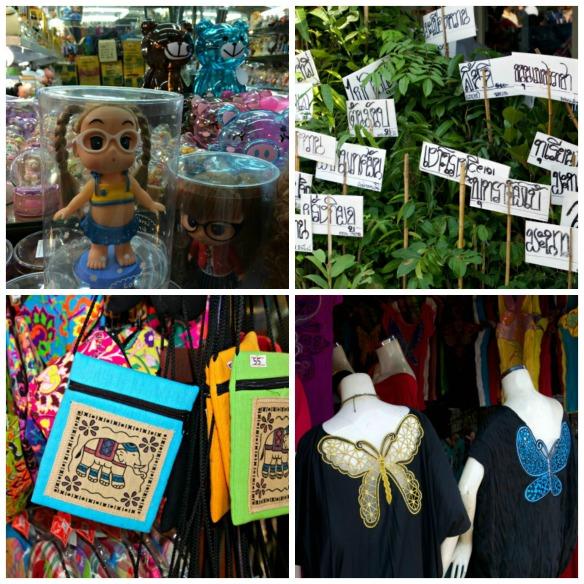 Chatuchak Market - Collage 3