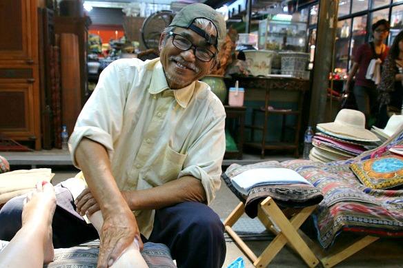 Chatuchak Market - Foot Massage