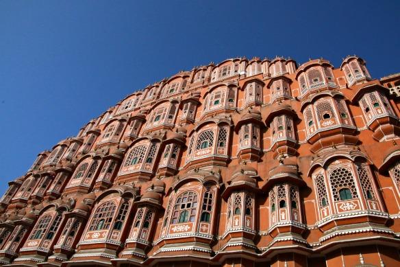 Hawa Mahal in Jaipur Indien