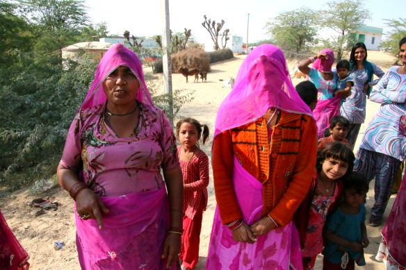 Indien - Frauen in Saris