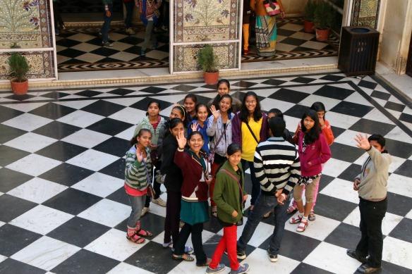 Indische Schüler