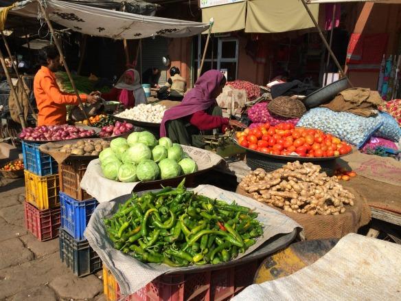 Markt in Idnien
