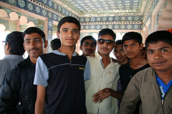 Schüler in Indien