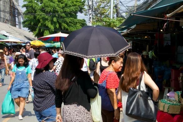 Sunny Chatuchak Market Bangkok