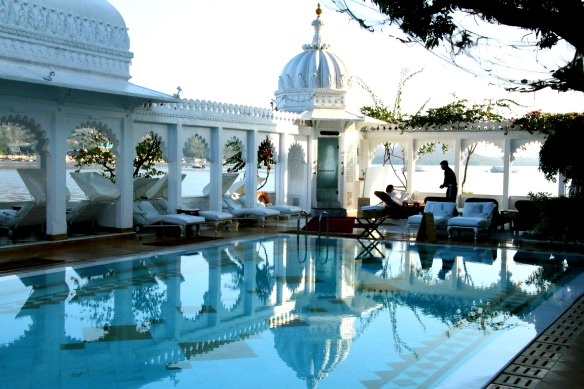 Taj Lake Palace Hotel in Udaipur Indien