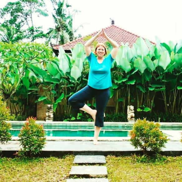 Ubud Bali Indonesien - Reiseblogger Anja Beckmann Yoga