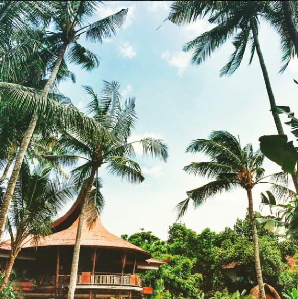 Ubud Bali Indonesien - Yoga Barn