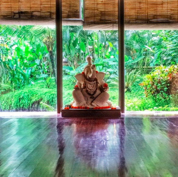 Ubud Bali Indonesien - Yoga