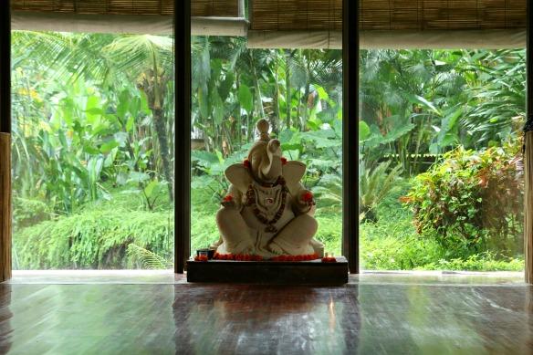 Ubud - Yogaraum bei Yoga Barn
