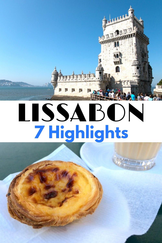 Die besten Reise Tipps und Insider Tipps für die schönsten Lissabon Highlights: Die Top 7 Sehenswürdigkeiten der Hauptstadt von Portugal. Euer Lissabon Reiseführer für den Urlaub: Ob Altstadt, Strand oder Essen. #Lissabon #Lisbon #Lisboa #Portugal #Städtereise #Citytrip #Urlaub #Reise #Reisen #Europareise #Europareisen