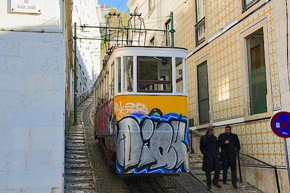 B6 Lissabon Standseilbahn