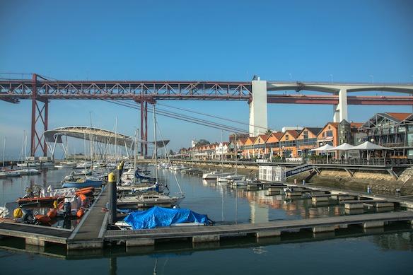 B8 Lissabon Hafen