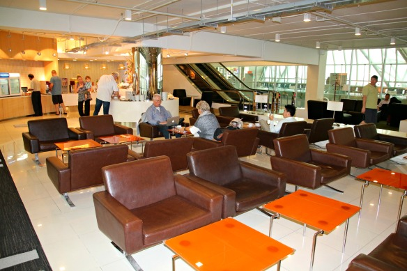 Condor Business Class - Lounge Bangkok