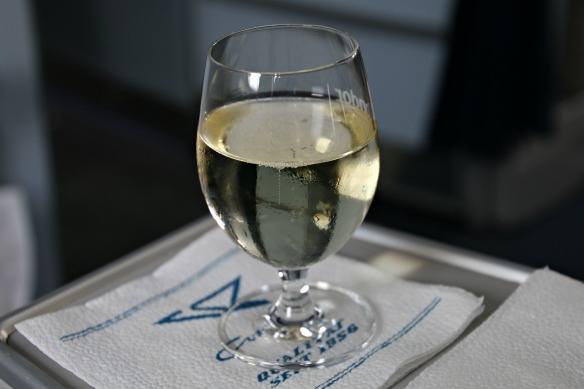 Condor Business Class - Welcome-Drink