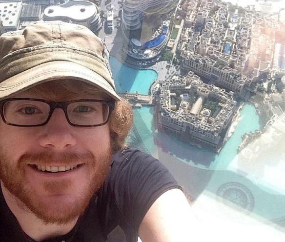 Dubai-Selfie