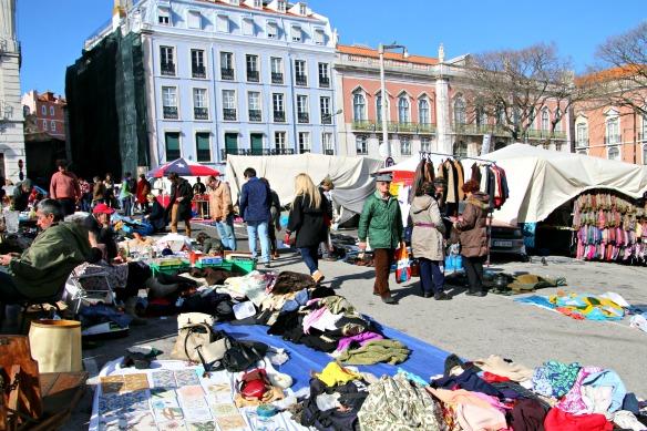 Feira da Ladra Markt