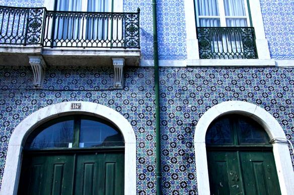 Kachelhaus in Lissabon