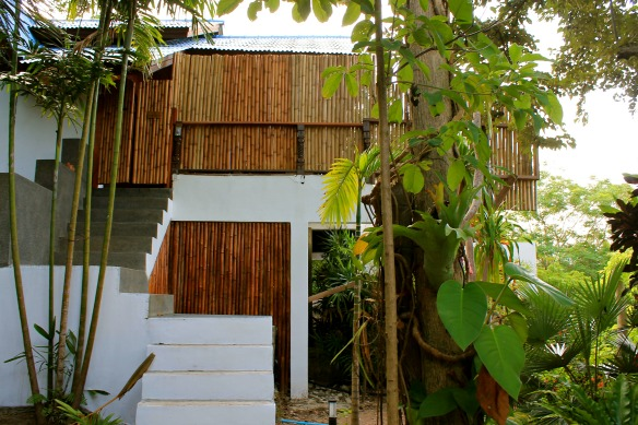 Koh Tao -Thailand - Hotel The Place - Außenansicht