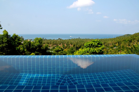Koh Tao -Thailand - Hotel The Place - Infinity Pool