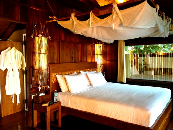 Koh Tao -Thailand - Hotel The Place - Schlafbereich