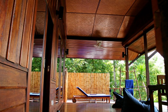 Koh Tao -Thailand - Hotel The Place -Terrasse