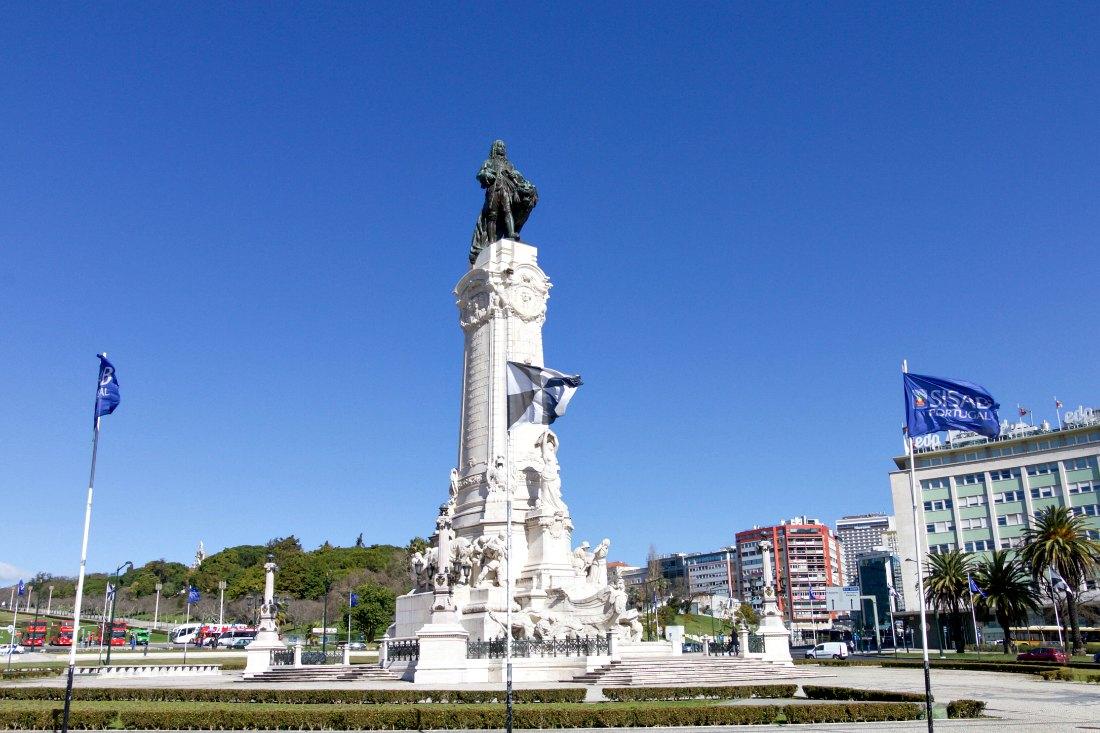 Platz in Lissabon