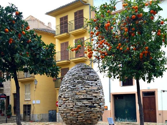 Mallorca - Orangenbaum Palma