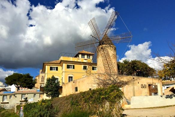 Mallorca - Palma Mühlen Santa Catalina