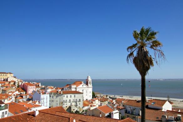 Portugal Lissabon Aussichtspunkt
