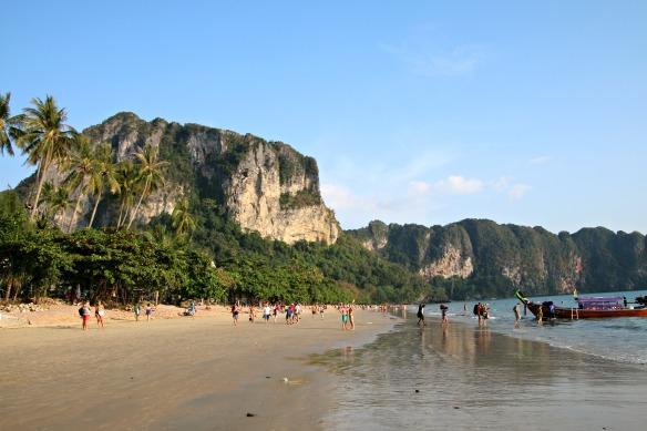 Strand Railey Beach West Krabi Thailand