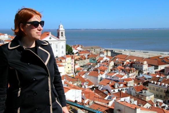 Reiseblogger Anja Beckmann in Lissabon Portugal