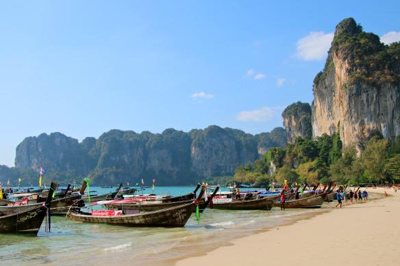 Strand Railey Krabi Thailand