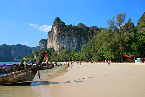 Strand Railay Beach in Krabi Thailand