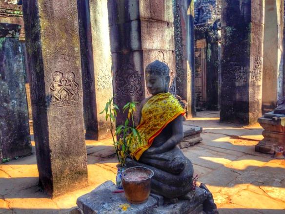 Angkor Wat Buddah