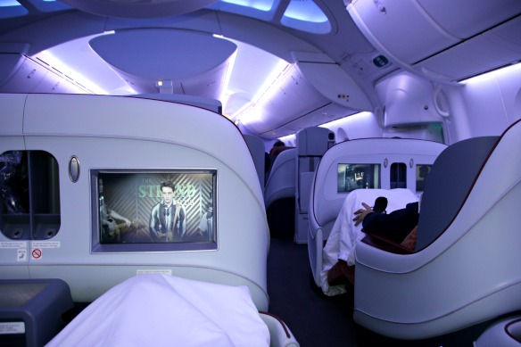 LAN Airlines - Business Class des Dreamliners